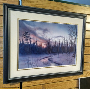 """Frozen Landscape"" by Costel Duval 15"" X 20"""