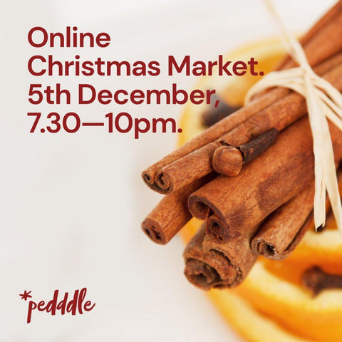 Pedddle Online Christmas Market Night January Eleven