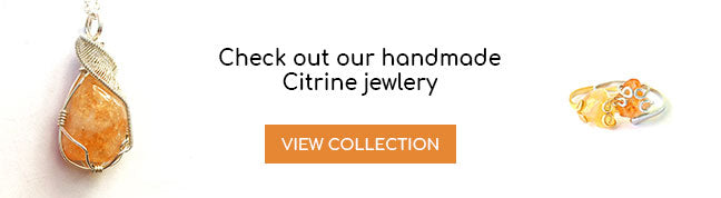 Handmade Citrine Jewelry