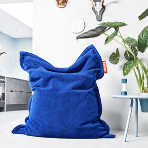 Royal Blue Fatboy Slim Teddy Bean Bag Chair