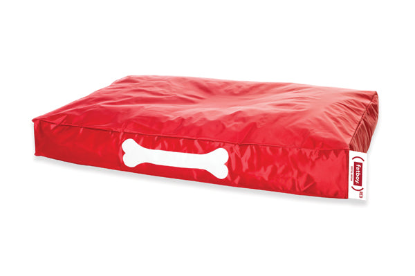 Fatboy (RED) Special Edition Doggielounge Dog Bed Close Up