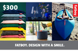 $300 Fatboy eGift Card