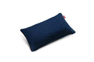 Fatboy King Velvet Throw Pillow - Dark Blue