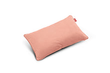 Load image into Gallery viewer, Fatboy King Velvet Throw Pillow - Pearl Blush