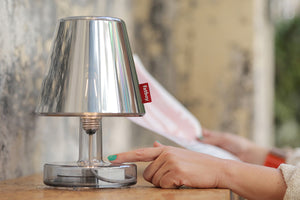 Fatboy Metallicappie Lamp Shade - With Grey Transloetje