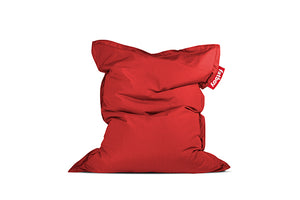 Fatboy Original Slim Outdoor Bean Bag Chair - Red