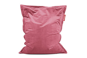 Fatboy Original Slim Velvet Bean Bag Chair - Deep Blush