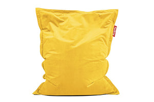 Fatboy Original Slim Velvet Bean Bag Chair - Maize Yellow