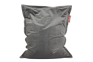 Fatboy Original Slim Velvet Bean Bag Chair - Taupe
