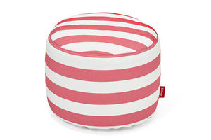 Fatboy Point Outdoor Ottoman - Stripe Red