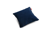Load image into Gallery viewer, Fatboy Square Velvet Throw Pillow - Dark Blue