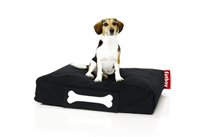 Fatboy Doggielounge Small Stonewashed Dog Bed - Black