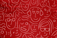 Fatboy (RED) Original - Let's Face It - Detail