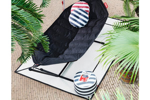 Off White Fatboy Carpretty Indoor Outdoor Area Rug with Headdemock Hammock