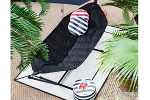 Fatboy Circle Outdoor Pillow on Headdemock Hammock