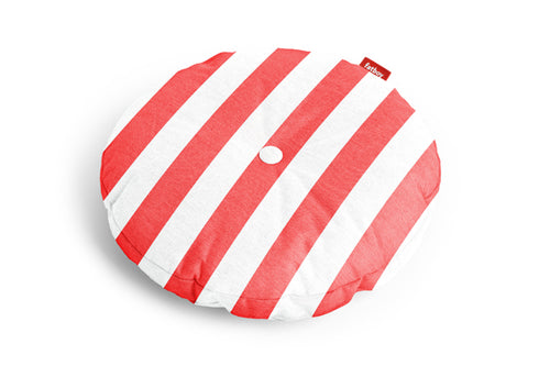 Fatboy Circle Outdoor Pillow - Red Stripe