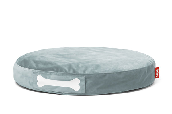 Fatboy Doggielounge Velvet Dog Bed - Calcite Blue