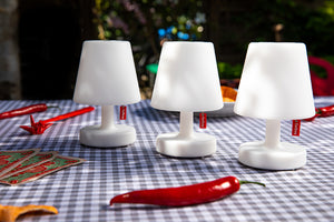 Fatboy Edison the Mini Lamp on Dining Table