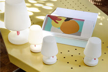 Load image into Gallery viewer, Fatboy Edison the Mini Lamps on Table Next to Edison the Petit