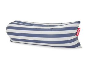 Fatboy Lamzac Version 3.0 Inflatable Lounger - Stripe Ocean Blue