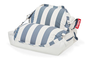 Fatboy Original Floatzac Floating Bean Bag Chair - Stripe Ocean Blue