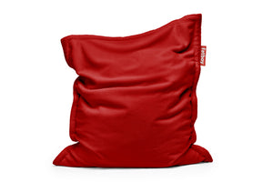 Fatboy Original Slim Teddy Bean Bag Chair - Red