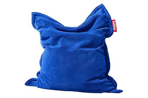 Fatboy Original Slim Teddy Bean Bag Chair - Royal Blue