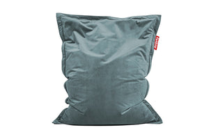 Fatboy Original Slim Velvet Bean Bag Chair - Calcite Blue