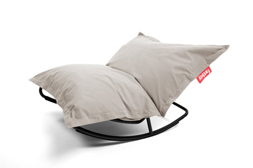 Fatboy Original Stonewashed Bean Bag Rocker - Silver Grey