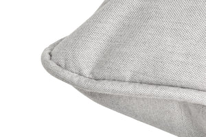 Fatboy Paletti Silver Grey Sunbrella Fabric Close Up