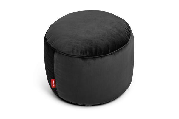 Fatboy Point Velvet Ottoman - Black