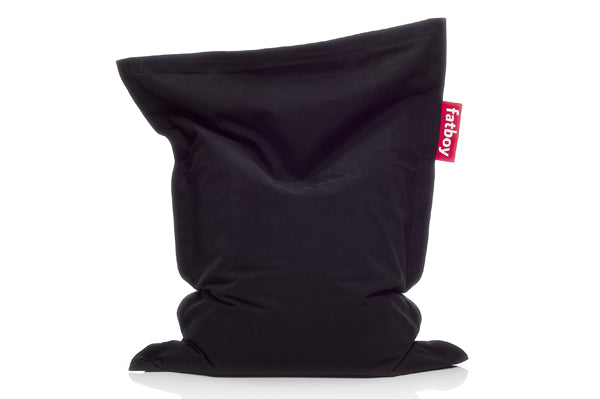 Fatboy Junior Stonewashed Bean Bag Chair - Black
