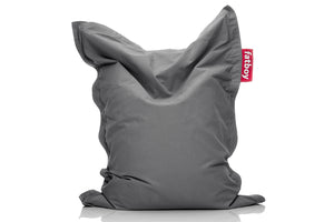 Fatboy Junior Stonewashed Bean Bag Chair - Grey
