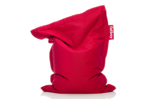 Fatboy Junior Stonewashed Bean Bag Chair - Red