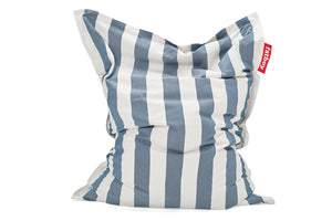 Fatboy Original Outdoor Bean Bag Chair - Stripe Ocean Blue
