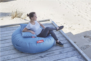 Fatboy Pupillow Outdoor Lounge on a Deck