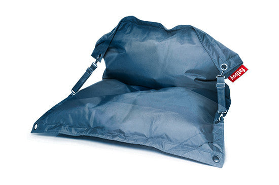 Fatboy Buggle-Up Bean Bag Lounge Chair - Jeans Light Blue