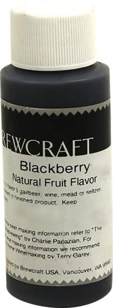Natural Fruit Flavor, Blackberry - 2 oz
