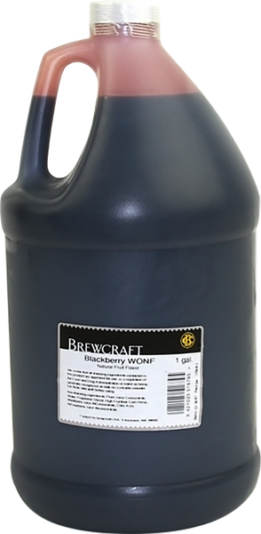 Natural Fruit Flavor, Blackberry - Gallon