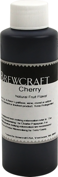 Natural Fruit Flavor, Cherry - 4 oz
