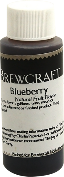 Natural Fruit Flavor, Blueberry - 2 oz
