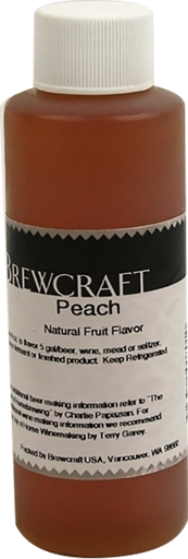 Natural Fruit Flavor, Peach - 4 oz