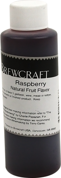 Natural Fruit Flavor, Raspberry - 4 oz