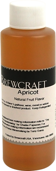 Natural Fruit Flavor, Apricot - 4 oz