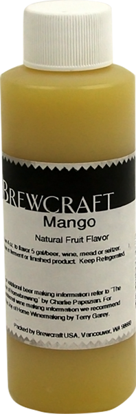 Natural Fruit Flavor, Mango - 4 oz