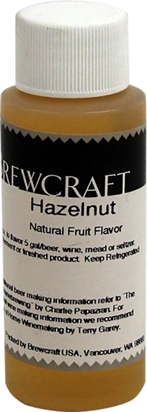 Natural Fruit Flavor, Hazelnut -  2 oz