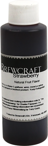Natural Fruit Flavor, Strawberry - 4 oz