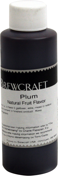 Natural Fruit Flavor, Plum - 4 oz