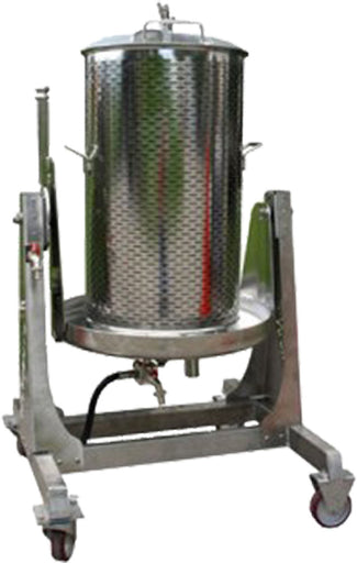 Water Press Brewcraft 80 lt with TILT Frm Stainless Steel