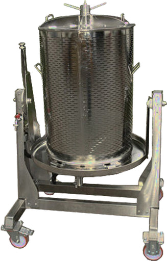 Water Press Brewcraft 120 lt with TILT Frm Stainless Steel